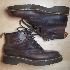 Vintage Dr. Martens Boots Made in England